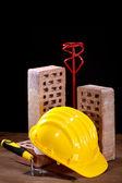Инструменты на рабочем месте — Стоковое фото