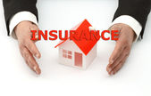 Insurance concept — Stock Photo