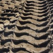 Stock Photo: Wheel tracks