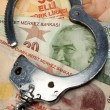 Financial Crime and Corruption — Stock Photo