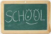 School message — Stock Photo