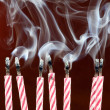 Birthday candles — Stock Photo #22507747