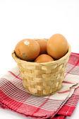 Fresh eggs — Stok fotoğraf