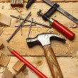 Carpenter's tools - Stockfoto