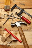 Carpenter's tools — Foto de Stock