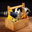 Tool box — Stock Photo #28679217