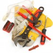 Bunch of hand tools — Stock Photo