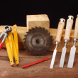 Stock Photo: Carpenter's tools