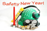 Safety New Year — Stock Photo