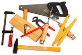 Carpenter's tools — Stockfoto