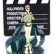 Fake Oscar award — Foto de stock #41841387