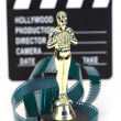 Fake Oscar award — Stock Photo
