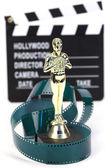 Fake Oscar award — Stock Photo