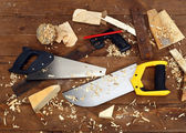 Saws — Stock Photo