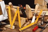 Carpenter's tools — Foto de Stock