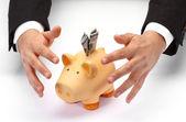 Chraňte své úspory — Stock fotografie