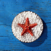 Red starfish — Stock Photo