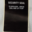 Security seal — Stock Photo #46782877