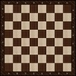 Wooden chess board background - Foto Stock