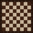Wooden chess board background - Stock fotografie