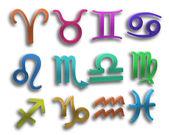 Kolor znaków zodiaku — Zdjęcie stockowe