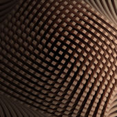 Abstract smooth vintage cubes background 3d — Stock Photo
