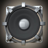Loudspeaker High resolution 3d render — Stock Photo