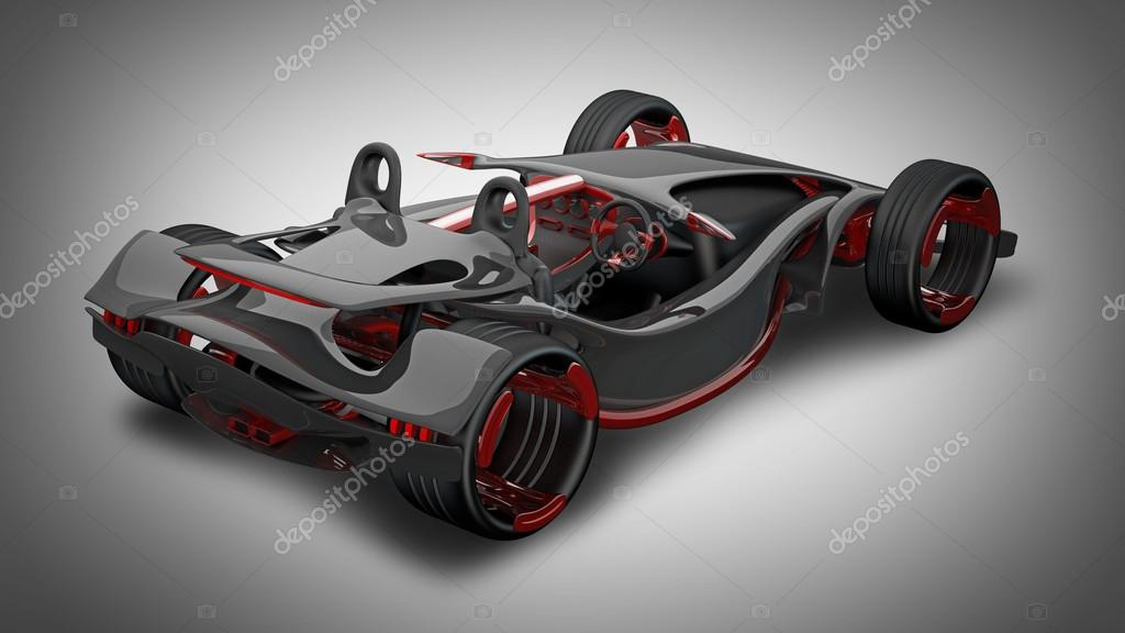 Red Sport Car Concept Stock Photo 169 Addricky 20318775