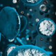 Stock Photo: Cells - High resolution 3d render