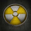 Radiation Alert sign background - Foto Stock
