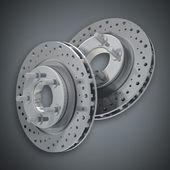 Brake Disc 3d render High resolution — Stock Photo