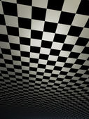 Checkered texture 3d background high resolution — Stock Photo