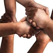 многие рукопожатие — Стоковое фото
