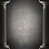 Columnas antiguas de fondo es estilo antiguo. — Foto de Stock