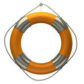Bouée de sauvetage orange — Photo