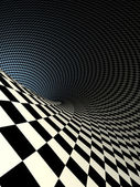 Checkered texture 3d background illustration. high resolution — Stock Photo