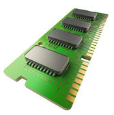 Computer RAM Memory Card 128gb — Stock Photo