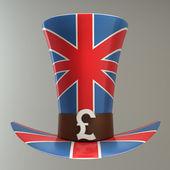 TOP hat of UK — Stock Photo