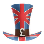 TOP hat of UK — Stock Photo