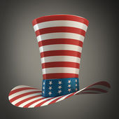 TOP hat of USA — Stock Photo
