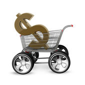 Concept US dollar SALE. — Stock Photo