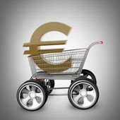 Concept EURO SALE. — Stock Photo