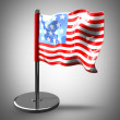 USA flag. — Stock Photo