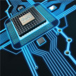 Central Processing Unit — Stock Photo #20354655
