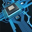 Stock Photo: Central Processing Unit