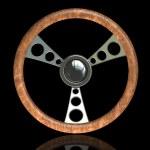 Steering wheel — Stock Photo