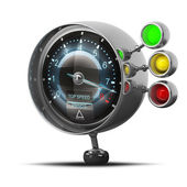 External tachometer — Stock Photo