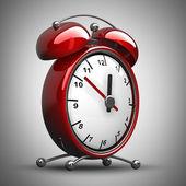 Red alarm clock — Stock Photo