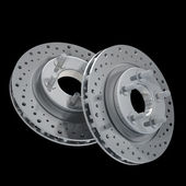 Brake Disc 3d render High resolution — Stock Photo