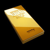 Gold bars. — Stock Photo